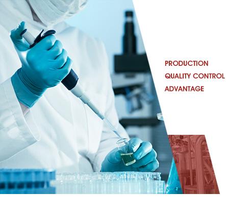 Production Quality Control Advantage